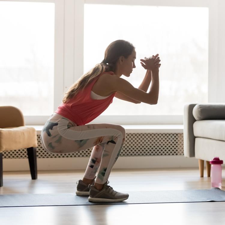 運動不足解消とダイエットに効果的!家でできる簡単エクササイズ5選