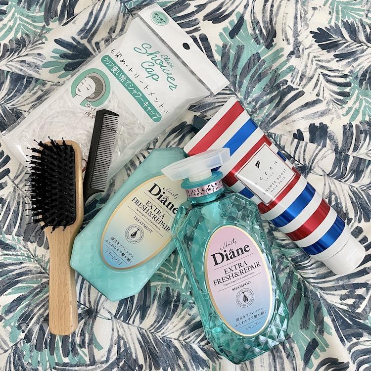 おうちで簡単!身近で購入できるアイテムをプラスαで「サラツヤ髪」に復活させるヘアケア法