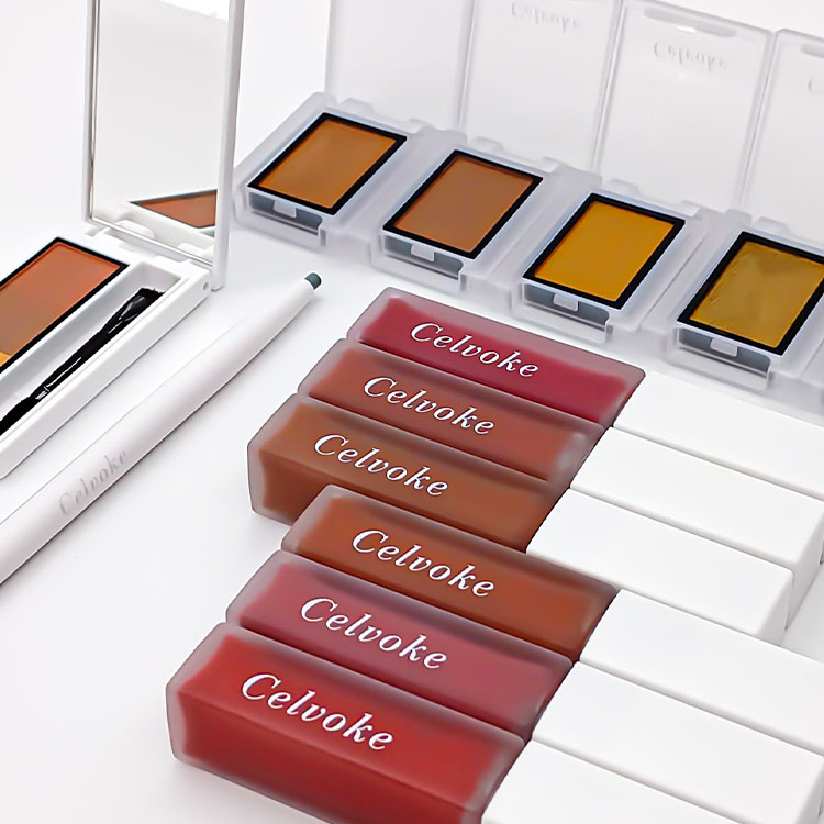 Celvoke(セルヴォーク)2021 A/W Makeup Collection「Colors of silence」第1弾【2021年8月2日(月)全国発売】